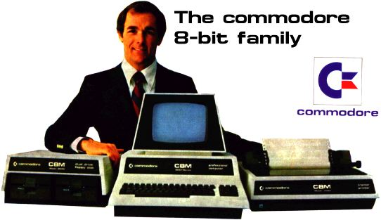 Commodore 8-bit Family Banner